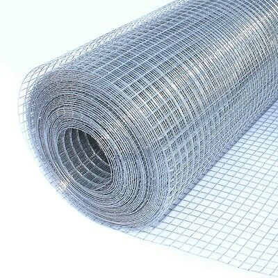 "ALEKO Mesh 50Ft Wire Roll Cloth 19 Gauge Steel 24 x 50 1/2"" Mesh WM24X50M1/2G19"