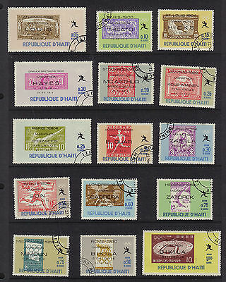 Olympics Athens 1896 To Tokyo 1964 Marathon Cto Never Hinged Stamps On Stamps