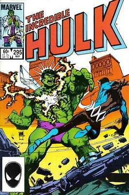 Incredible Hulk (1968 series) #295 in Near Mint - condition. FREE bag/board
