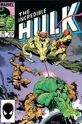 Incredible Hulk (1968 series) #313 in Near Mint - condition. FREE bag/board