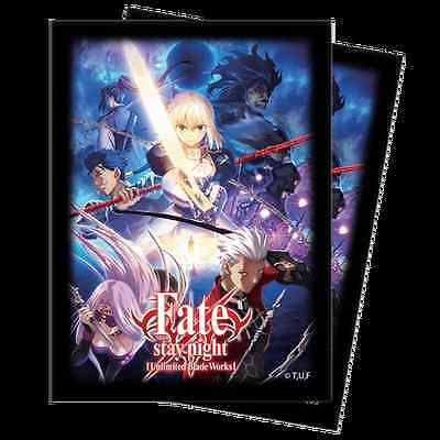 Ultra Pro Fate/Stay Night [UBW] (50 Count) Standard Size Sleeves New Sealed