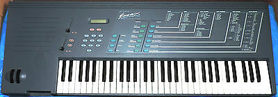 Vintage EMU EMAX Sampling Keyboard in Original Box, Manual, Sound Discs - check