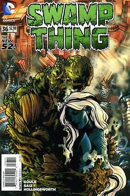 Swamp Thing (2011 series) #36 in Near Mint + condition. FREE bag/board