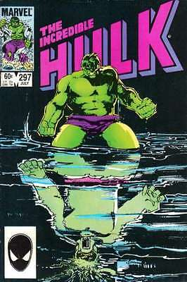 Incredible Hulk (1968 series) #297 in Very Fine + condition. FREE bag/board