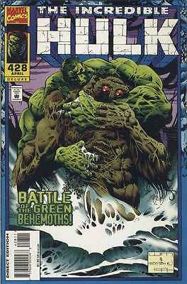 Incredible Hulk (1968 series) #428 in Near Mint + condition. FREE bag/board