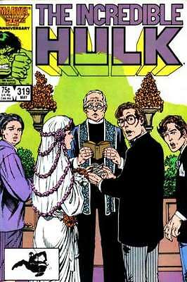 Incredible Hulk (1968 series) #319 in Near Mint - condition. FREE bag/board