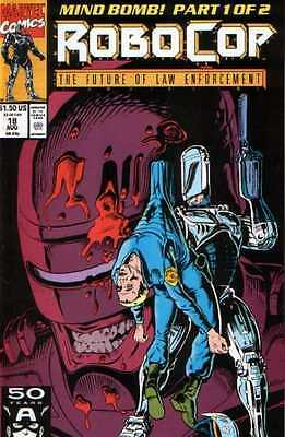 Robocop (1990 series) #18 in Near Mint + condition. FREE bag/board