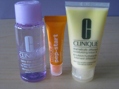 'CLINIQUE' 3 Top Skin Care Items + Free Gift!