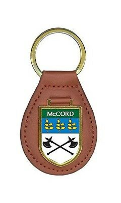 McCord Family Crest Coat of Arms Key Chains