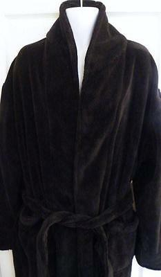 Super Soft Coral Fleece Luxury Bathrobe Dressing Gown Unisex SIZE Large