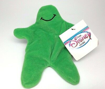 """Disney Store Exclusive Mini Bean Bag Plush 7"""" Green Flubber with Tag"""
