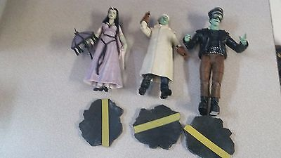 The Munsters Select Series 3 Lot of 3