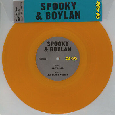 "Spooky & Boylan - Low Rider / All Black Winte (Vinyl 10"" - 2016 - EU - Original)"