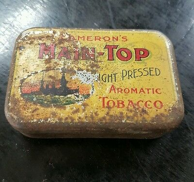 Cameron's Main Top Light Pressed  Tobacco Tin