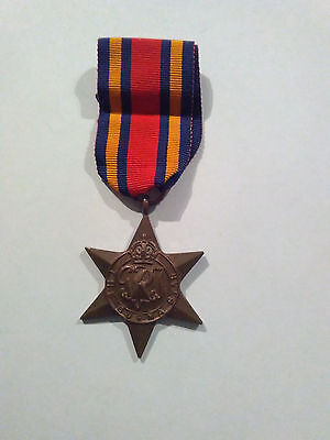 "Original WW2 Burma Star Medal Indian Issue Named ""Jemdr Mota Singh"""