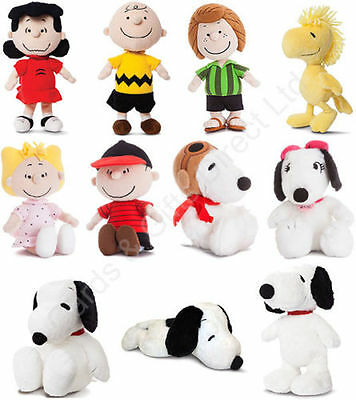 Peanuts~SNOOPY~CHARLIE BROWN~LUCY~WOODSTOCK~LINUS~SALLY~ANY 4 Soft Toys~Aurora
