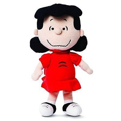 """10"""" PEANUTS~LUCY~Soft Toy~Brand New With Tags~AURORA WORLD~SNOOPY~COLLECTABLE"""