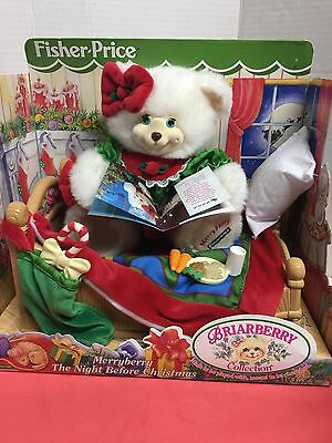 Fisher Price Merryberry The Night Before Christmas-1999-NEW IN BOX