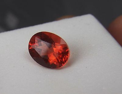 1.50cts RED ANDESINE LABRADORITE OVAL cut 9 mm by 7 mm GEMSTONE CONGO AFRICA
