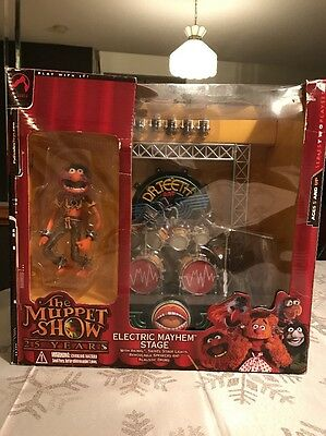 The Muppets Show Animal Electric Mayhem Stage Drum Set - NEW