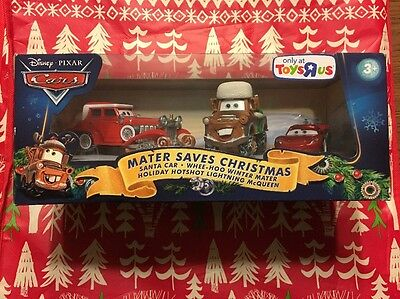 Cars Mater Saves Christmas Santa Car Winter Mater Holiday Lightning Mcqueen