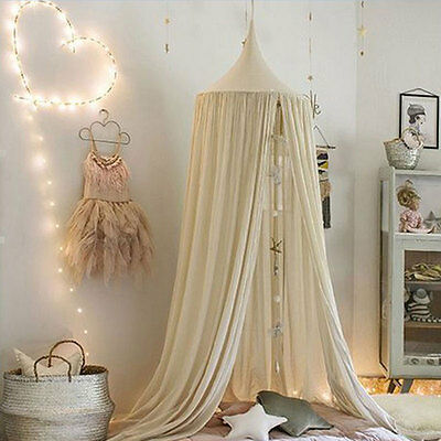 Canopy Bed Netting Mosquito Bedding Net Baby Kids Reading Sleeping Tents Cotton