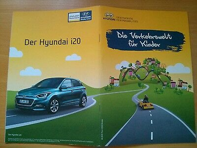 Hyundai Promotional Booklet from Legoland Germany - Children driving school