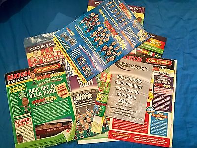Collection Of Corinthian Prostars And Microstars Leaflets Newsletters Promo