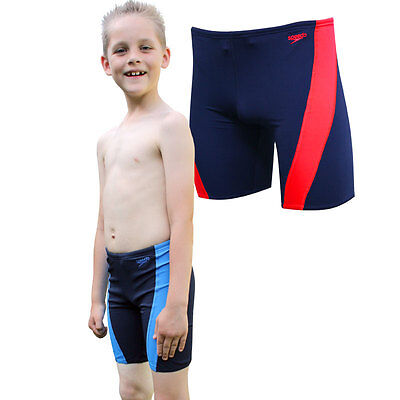 Boys Navy Speedo Endurance+ Lepa Swimming Jammers - Must GO SALE - FREE POSTAGE