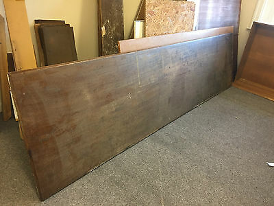 Large Wood Table/counter Top Possibly Mahogany Vintage