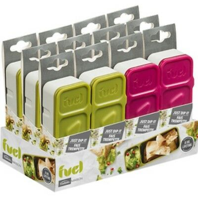 NEW Fuel Reusable Snack n' Dip Container - BPA Free Eco Friendly