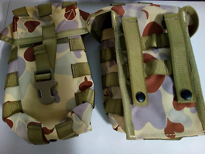 2 x Army camo pouch bag Small Size
