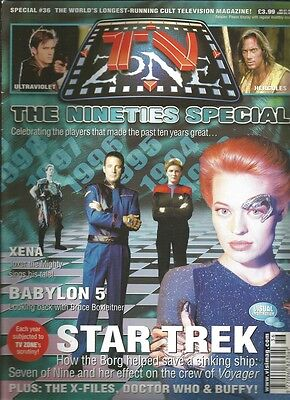 TV Zone Special 36 The Nineties Special March 2000