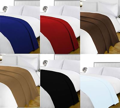 Wholesale 24 x Fleece Blanket Soft Warm & Cosy for Winter New 120 x 150cm Joblot