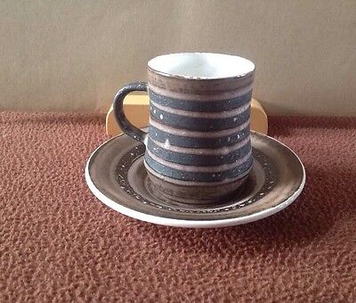 Cinque Ports Pottery Rye Coffee Cup And Saucer