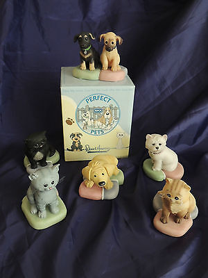 Robert Harrop - Perfect Pets - Choice of Dog or Cat Figurine - Boxed