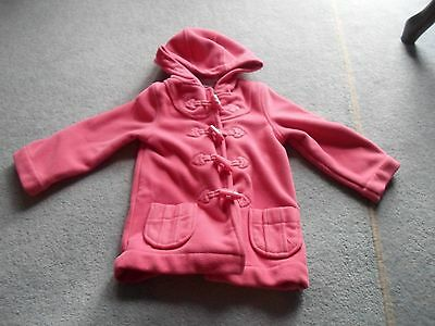 Girls age 1 1/2 to 2 years pink duffle coat