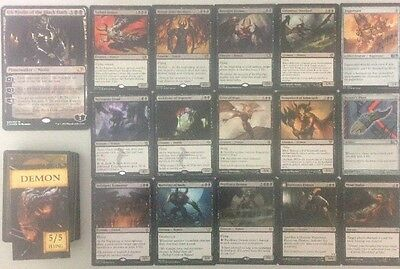 COMMANDER DECK DEMONS OB NIXILIS Ready To Play 100 Cards Mtg