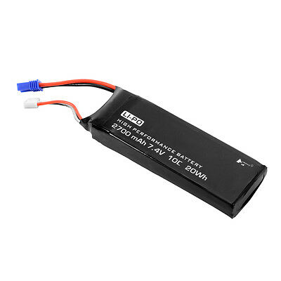 7.4V 2700mAh 10C Battery Replacement Part for Hubsan H501S X4 Quadcopter RC305
