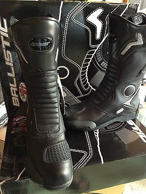 Joe Rocket Ballistic Touring  Motorcycle Leather Boots Mens Size 13