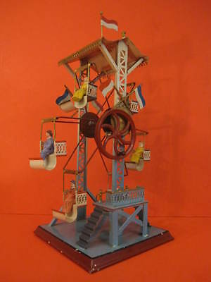 All Original Doll Handpainted Ferris Wheel Germany 1920 Fantastic Condition