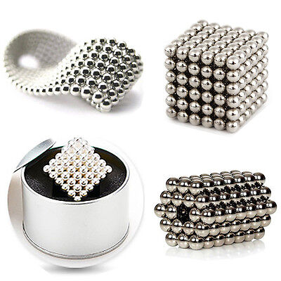 5MM Magnetic Beads Magic Balls Cube Puzzle Spheres Puzzle Set 216 Pcs Hot #23