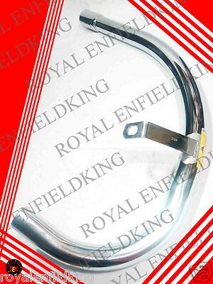 2 Pcs -  New Royal Enfield Bullet Electra Exhaust Pipe