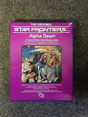 The Original Star Frontiers ALPHA DAWN Role Playing Game - LLD