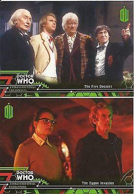 Doctor Who Extra Terrestrial Encounters - Complete 100 Card Base Set