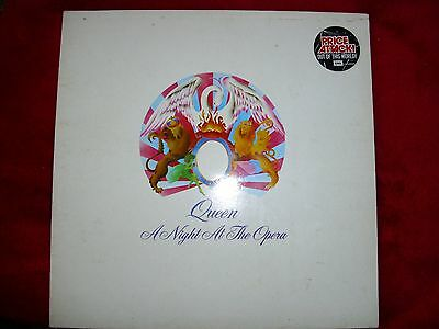 QUEEN VINYL RECORD a night at the opera