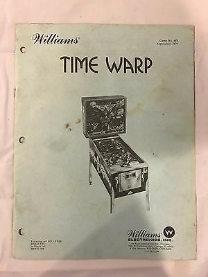 Williams Time Warp Pinball Manual