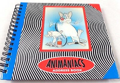 Pinky & Brain LG Address Book Lenticular Warner Brothers Store Looney Tunes wb