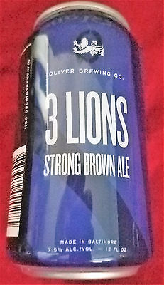 Maryland - 3 Lions Strong Brown Ale -12oz - Oliver Brewing