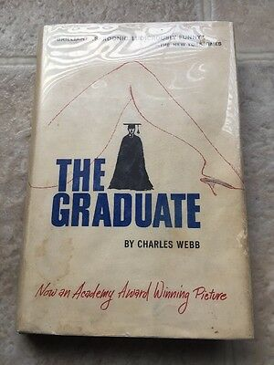 The Graduate Charles Webb 1963 1st Edition With DJ. Library Book??